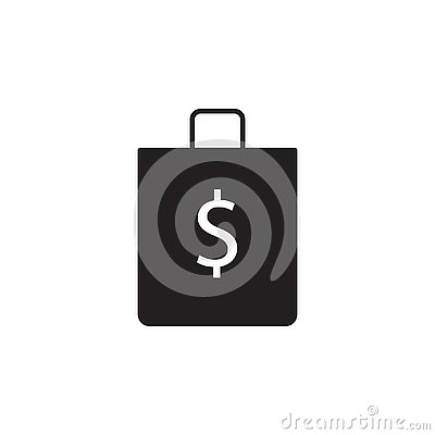 Free Shop, Bag, Dollar Icon. Signs And Symbols Icon Can Be Used For Web, Logo, Mobile App, UI, UX Stock Photos - 133398253