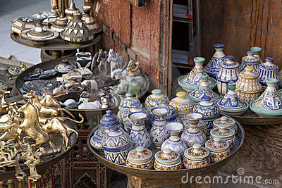Shop in Fez Marocco
