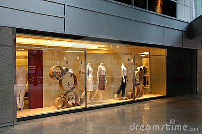 Shop Front - Orchard Road, Singapore