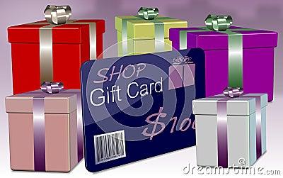 Shop gift card