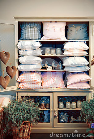 Shop with home goods