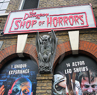 Shop of Horrors Editorial Photo