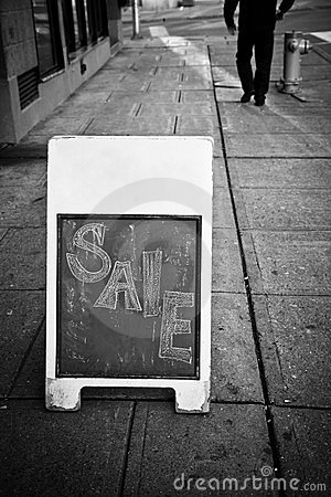 Shop Sale Sign