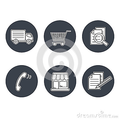 Shop Symbols, Navigation - Stores, How To Purchase, Terms And ...