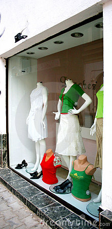 Shop window Editorial Photo