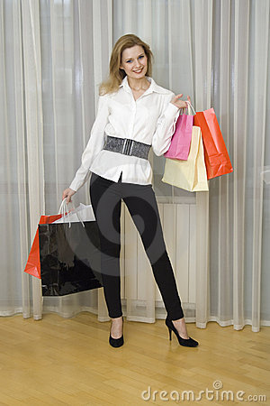 Shopaholic Stock Images - Image: 15256994