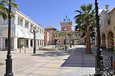 Shoping street El Mercato in Sharm-El-Sheikh