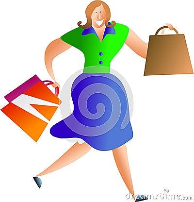 Free Shopper Royalty Free Stock Photo - 445595