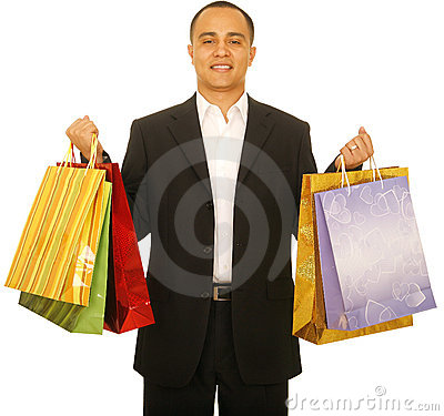 Free Shopper Royalty Free Stock Image - 5521436