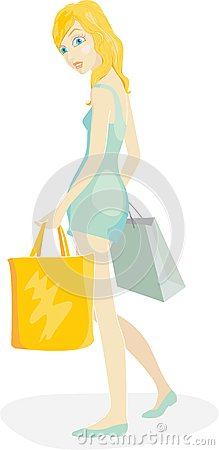 Shopper girl