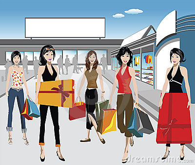 Shoppers Stock Images - Image: 2201524