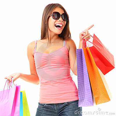 Free Shopping Royalty Free Stock Photography - 13495887