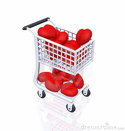 Free Shopping 4 Love 01 Stock Photography - 17872352
