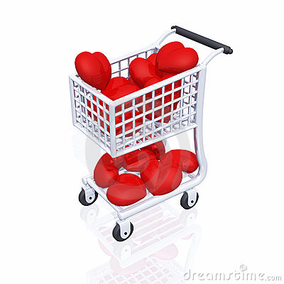Free Shopping 4 Love 03 Royalty Free Stock Image - 17872356