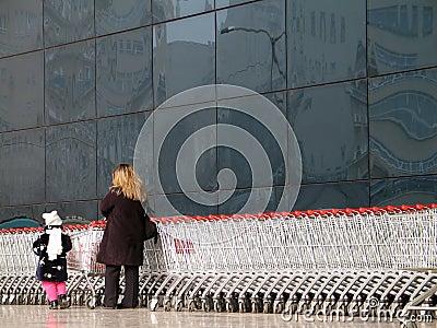 Shopping (Ankara, Turkey) Editorial Stock Photo