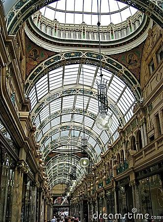 Free Shopping Arcade Royalty Free Stock Photo - 512125