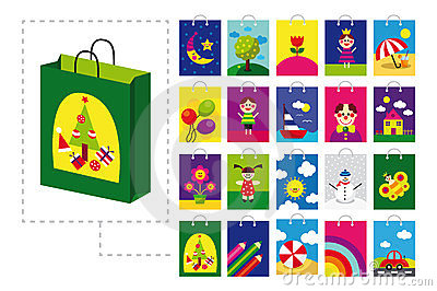Shopping bag for children