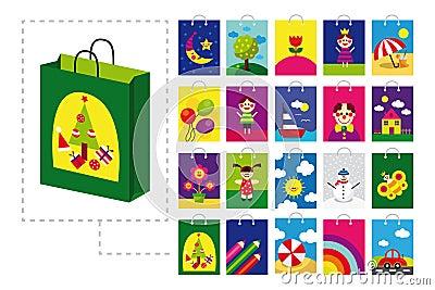 Shopping bag for children