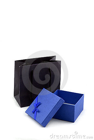Shopping Bag and Gift Box