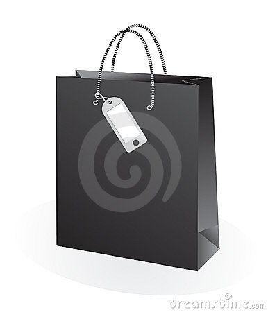 Shopping Bag with label