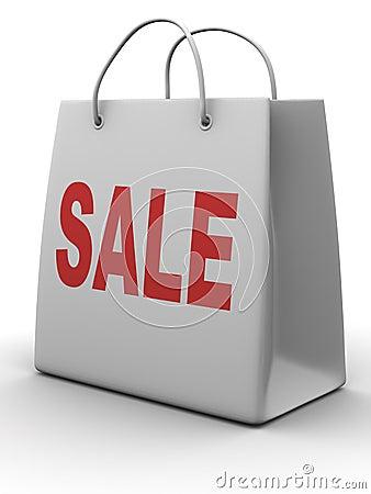 Shopping bag. Sale