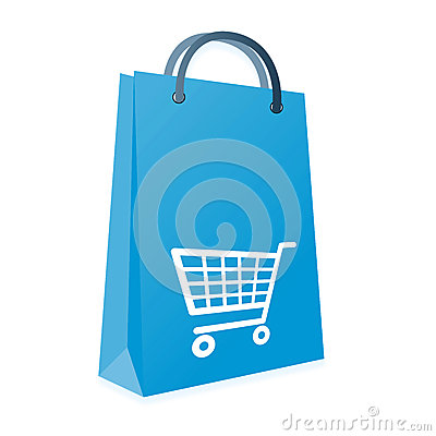 Shopping bag and trolly