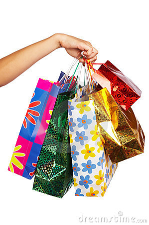 Free Shopping Bags Stock Images - 1292134