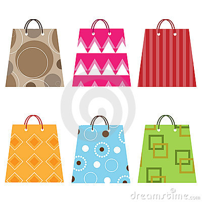 Free Shopping Bags Royalty Free Stock Photography - 14438727