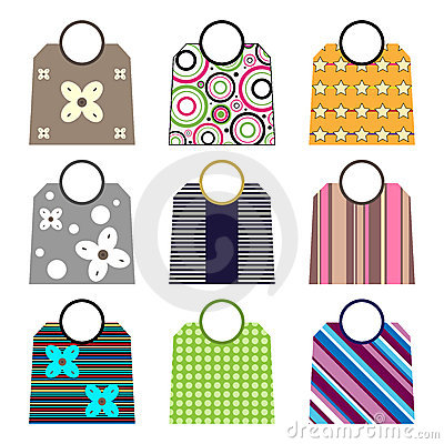 Free Shopping Bags Royalty Free Stock Photography - 15487687