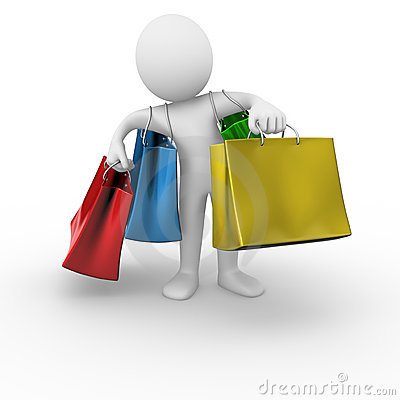 Free Shopping Bags Royalty Free Stock Photos - 17610908