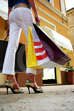 Free Shopping Bags Stock Photo - 2433610