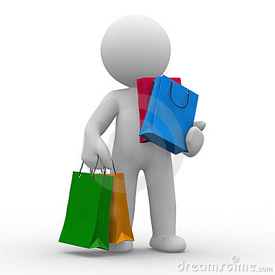Free Shopping Bags Stock Image - 6906241