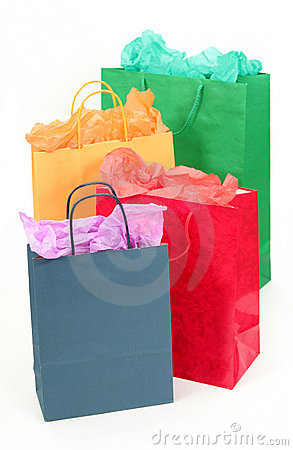 Free Shopping Bags Stock Photography - 715052