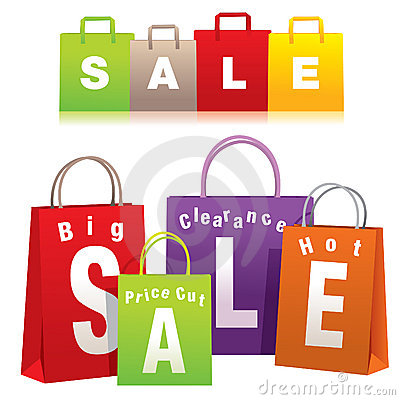 Free Shopping Bags Royalty Free Stock Images - 9100359
