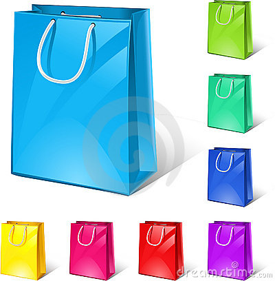 Free Shopping Bags Royalty Free Stock Images - 9233069
