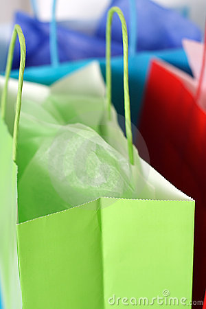 Free Shopping Bags Stock Images - 961924