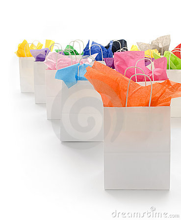 Free Shopping Bags Vertical Stock Photos - 4245613
