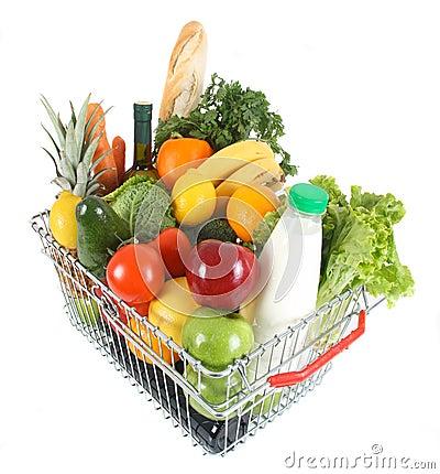Free Shopping Basket Royalty Free Stock Photo - 11758715