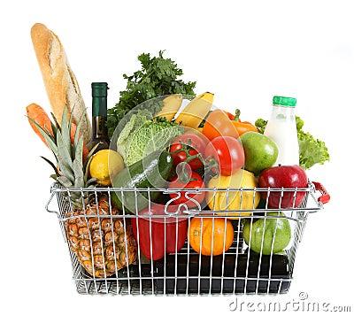 Free Shopping Basket Royalty Free Stock Photos - 11758718