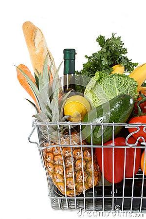 Free Shopping Basket Royalty Free Stock Photos - 11758728