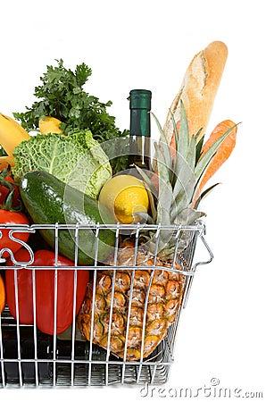 Free Shopping Basket Stock Image - 11819821