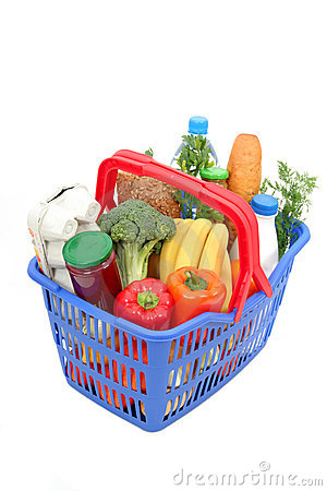 Free Shopping Basket Royalty Free Stock Photos - 659528