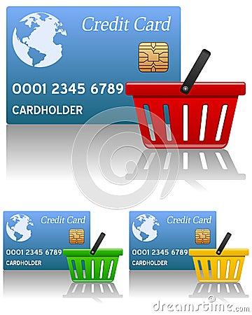 Shopping Basket & Credit Card