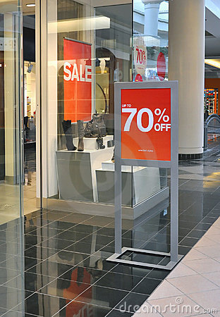 Shopping Business Store Sale Window