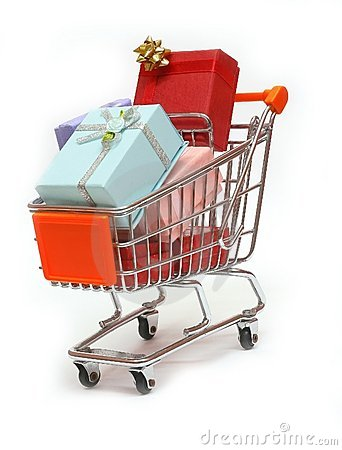 Free Shopping Cart 10 Royalty Free Stock Image - 390016