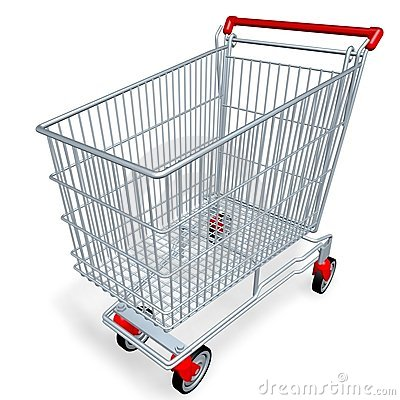 Free Shopping Cart Royalty Free Stock Images - 1821399