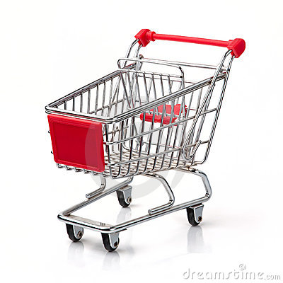 Free Shopping Cart Royalty Free Stock Photography - 19548657