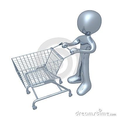 Free Shopping Cart Royalty Free Stock Image - 2485276