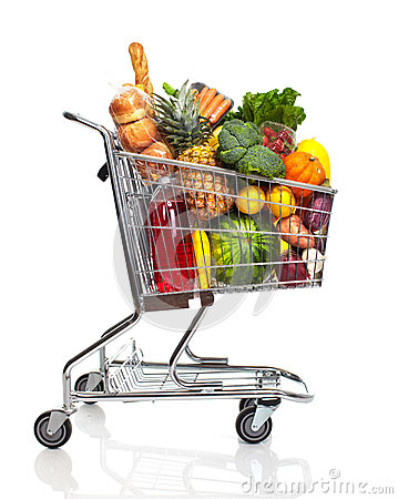 Free Shopping Cart. Royalty Free Stock Photography - 32541987