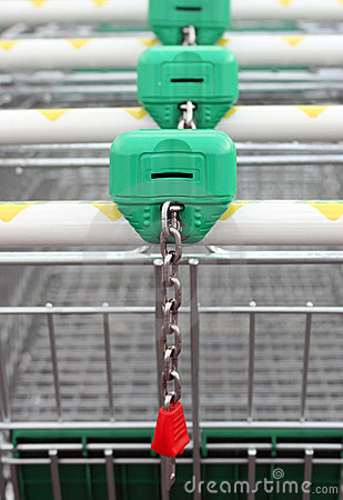 Free Shopping Cart Stock Image - 3727071